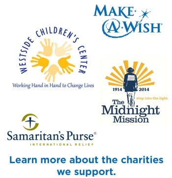 Foundation donation logos